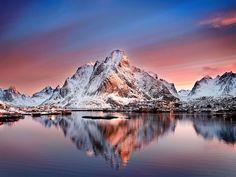 From the Lofoten Isl