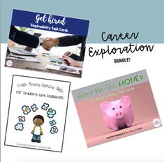 Getting Ready for My Future! {A Career Exploration Bundle} by Primarily Au-Some