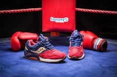 "The Boxing Inspired Saucony Grid 9000 ""Sparring"" - EU Kicks Sneaker Magazine"