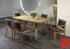 The Tables T53 have the potential to bring a unique character into your home. #woodentable #diningroom