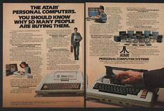 1980s atari ads | Details about 1980 ATARI 400 Personal Computer Systems & Software - 2 ...