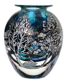 Graal Landscape vase | ORDER-Graal-one-off-pieces-available-made-to-order | J H Studio Glass