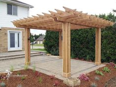 We can design borders in your patio to really define the different areas of your outdoor living space. Backyard Pergola, Patio, Holiday Lights, Can Design, Landscape Lighting, Outdoor Living, Living Spaces, Privacy Screens, Exterior