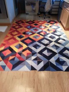 KMA Quilt: initial lay out