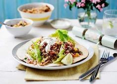 This slow cooker recipe makes for meltingly tender pork shoulder with a zingy sweet salsa and a dollop of sour cream, served on a toasted tortilla Slow Cooker Recipes, Crockpot Recipes, Sweet Salsa, Slow Cooked Pork, Pineapple Salsa, Mexican Food Recipes, Ethnic Recipes, Tostadas, Healthy Tips