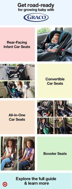 Shop Graco's Car Seat Buying Guide.