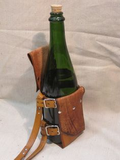 I already have a leather belt, now just NEED this bottle holder