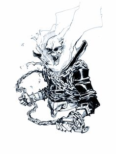 Ghost Rider by Eric Canete