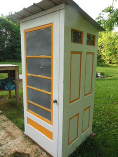 Love this for a Garden Tool shed