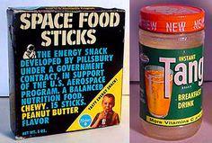astronaut stick breakfast food 1970 - photo #16