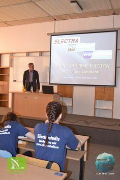 Prezentarea firmei Electra in cadrul ZSE (Zilele Studentului Electronist) Student, Electronics, Consumer Electronics