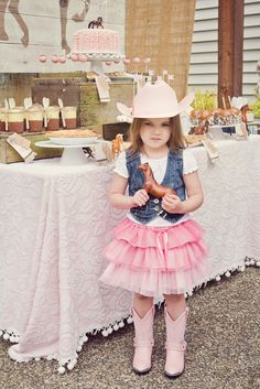 Photo 22 Of 36 Pink Brown Vintage Ponies Birthday Pony Party