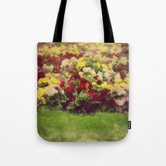 Vintage Pretty Flowers Tote Bag by victoriaherrera | Society6