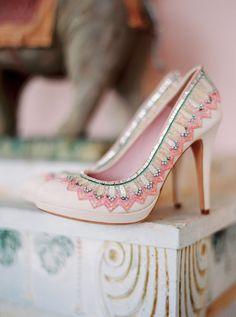 Boho Indian Palace Wedding Inspiration   Wedding Sparrow