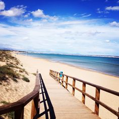 Guardamar, Spain. Close to our Scardroy Homes Costa Blanca apartment