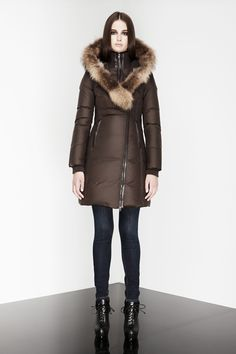 Great choice for a winter coat! Super-hot!  Love  Mackage! - KAY-B - New Arrivals - Women - Shop online
