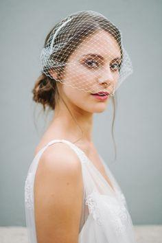 Braut haarschmuck mit schleier  Braut-Haarschmuck, Birdcage, Kurzschleier,Fascinator,Schleier,Rose ...
