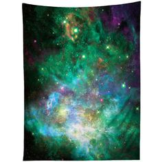 Space Artwork Tapestry Print Galaxy Nebula Wall Decor Psychedelic Home... (195 PLN) ❤ liked on Polyvore featuring home, home decor, wall art, dark olive, home & living, home décor, wall décor, wall hangings, nebula wall art and flag wall hanging