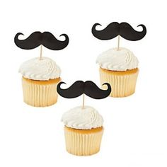Mustache Party Picks | 25ct - DIY this