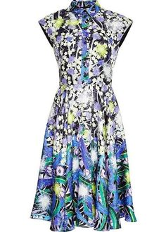 868c2d32456 peter pilotto - Google Search Floral Shirt Dress