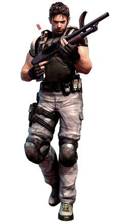 Chris Redfield - Characters & Art - Resident Evil: The Mercenaries 3D