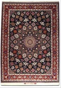 A guide to the Seirafian carpet weaving family of Isfahan