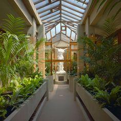 Frank lloyd Wright's Martin House Conservatory
