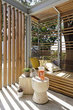 Gallery   Australian Interior Design Awards  Great outdoor nook from Avoca beach house