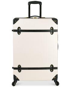 "Diane von Furstenberg Adieu 28"" Hardside Spinner Suitcase - Large Check-In Luggage - luggage - Macy's"