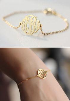 Custom Monogram Bracelet ♥