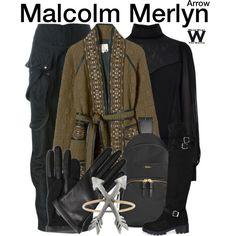 Inspired by John Barrowman as Malcolm Merlyn on Arrow