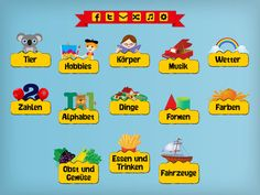 ipad app,learning german for kids