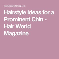 about Chin Hair on Pinterest | Curls For Short Hair, Tessanne Chin ...