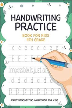 Handwriting Practice Book For Kids 4th Grade Print Handwriting Workbook for kids: Workbook6x9 inches: Publishing, Carrizales: 9798663325035: Amazon.com: Books Print Handwriting, Handwriting Practice, Cute Journals, Kindle App, First Order, Machine Learning, Book Recommendations, This Book, Author