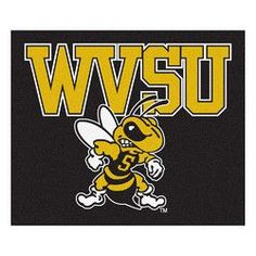 West Virginia State Yellow Jackets NCAA 5x6 Tailgater Mat (60x72)