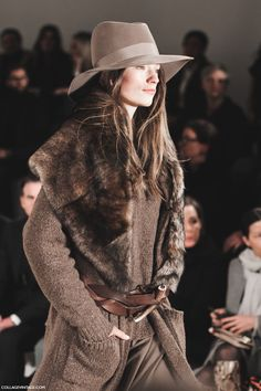Ralph Lauren, Fall Winter 2015/2016. Collage Vintage. New York Fashion Week.