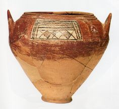 Hittite jar from Kültepe in Turkey. Ancient Aliens, Ancient History, School Of Athens, Sumerian, Ancient Artifacts, Orient, Bronze Age, Ceramic Clay, Prehistoric