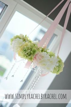 Ombre Rose Halo Chandelier DIY Projects Pinterest Gardens - Beautiful diy white flowers chandelier