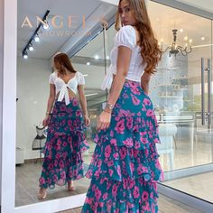 Trendy Outfits, Summer Outfits, Fashion Outfits, Summer Dresses, Womens Fashion, Cotton Long Dress, Church Outfits, Skirt Outfits, Beautiful Dresses