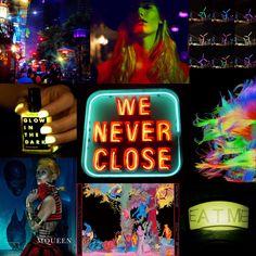 Neon #trendsquire.russia