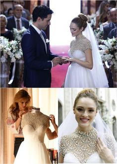 O Vestido De Noiva Patricia Bonaldi Da Isabelle Drummond Na Novela Sete Vidas
