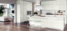 The Secret to Custom Kitchen Rennovation Done in Melbourne - fiihaamay White Contemporary Kitchen, Modern Kitchen Design, Kitchen Designs, Kitchen White, Kitchen Ideas, Scavolini Kitchens, Kitchen Prices, Style Deco, Kitchen Cabinetry