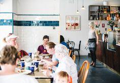 Illi Hill, new café opened in Marrickville serving ricotta buttermilk pancakes- Broadsheet Sydney - Broadsheet Café Bistro, Bistro Restaurant, Ricotta, Sydney, King Of The Hill, Food Spot, News Cafe, Buttermilk Pancakes, Coffee Corner