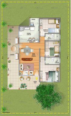 Good good design to edit Sims House Plans, House Layout Plans, Bungalow House Plans, Dream House Plans, Small House Plans, House Layouts, House Floor Plans, Home Building Design, Home Design Plans