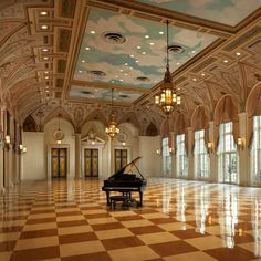 The Breakers Ball Room - 4 Florida Resorts You Wish You Were at Right Now Beautiful Architecture, Interior Architecture, Florida Resorts, Beach Resorts, Ballrooms, House Goals, My Dream Home, Palm Beach, Future House