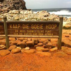Kaap de goede hoop, zuid-afrika. Ik was daar in 2007, prachtige plek!