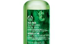 we love The Body Shop: Tea Tree Skin Clearing Facial Wash #beauty #acne