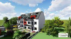 Mehrfamilienhaus - Esslinger Hauptstraße 35 Mansions, House Styles, Home Decor, Condominium, Homes, Ideas, Decoration Home, Manor Houses, Room Decor