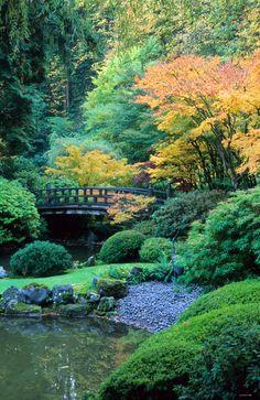 Strolling Garden at Japanese Portland Garden, Oregon (1) From: Japzen, please visit