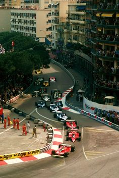 "Monaco Grand Prix.  Rode it--ok, not in a racecar but I rode on this ""track""!"